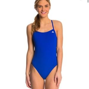ADIDAS INFINITEX Solid C Back One Piece Swimsuit